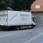 "Messe ""Fens"" Mailand Transportlkw"