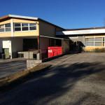 Lager-Gebäude