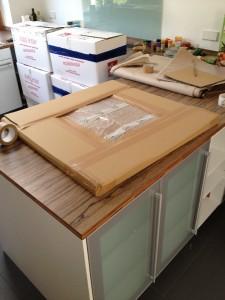 Verpacktes Umzugsgut